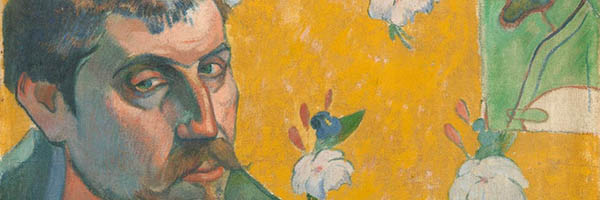 Gauguin self portrait